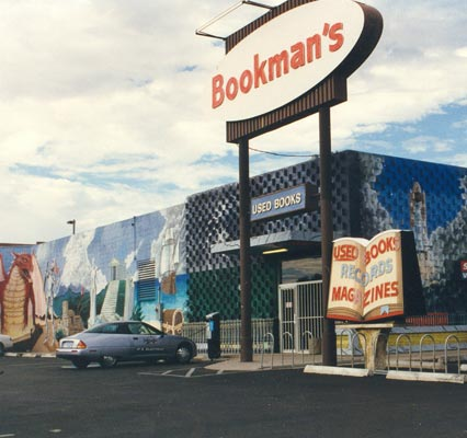 Bookmans flagship storefront, Campbell Ave. and Grant Rd.