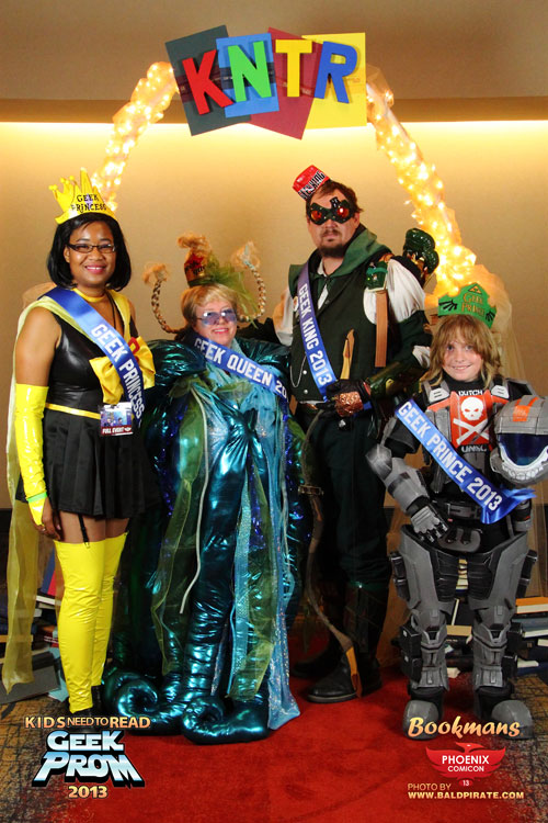 The 2014 Geek Prom Royal Court
