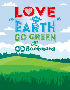 Go Green with Bookmans