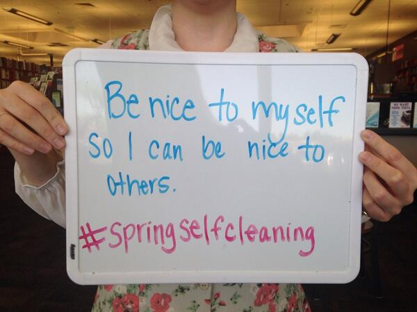 Spring Self Cleaning