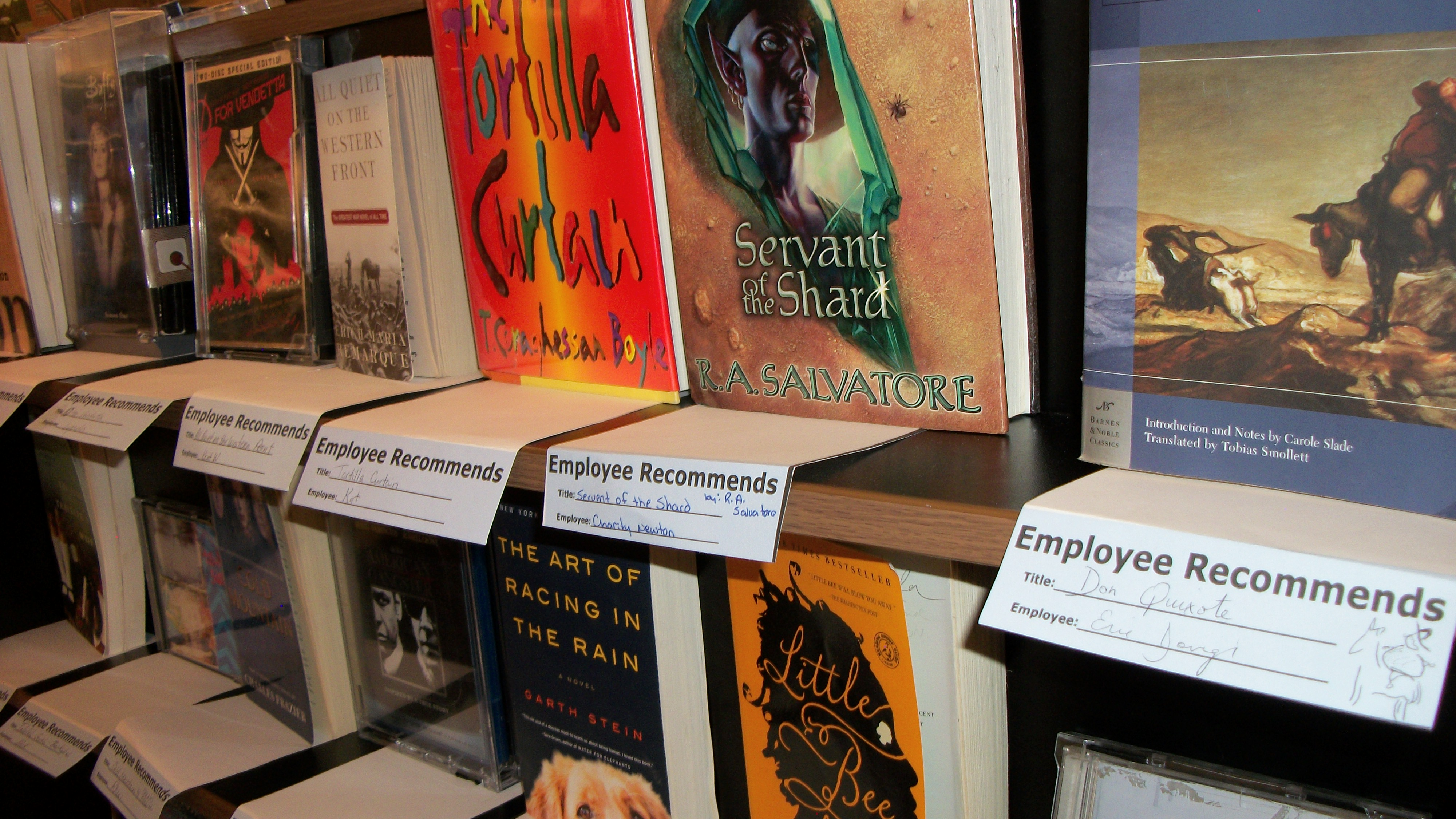 Bookmans Employee Recommends Books | Bookmans ... - photo#8