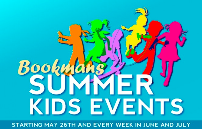 Bookmans Summer Kids Events 2014