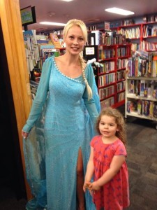 elsa and evie