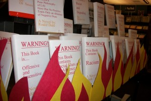 Bookmans Flagstaff Banned Books Display