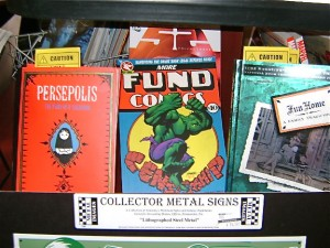 Censored Graphic Novels at Bookmans Speedway