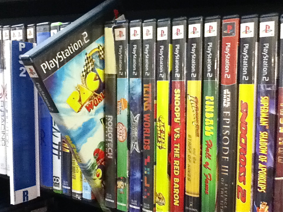 Bookmans Speedway Video Games