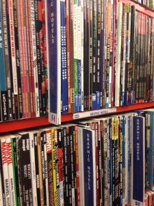 Graphic Novels at Bookmans Flagstaff