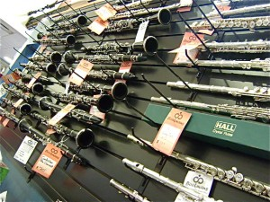 Clarinets and Flutes