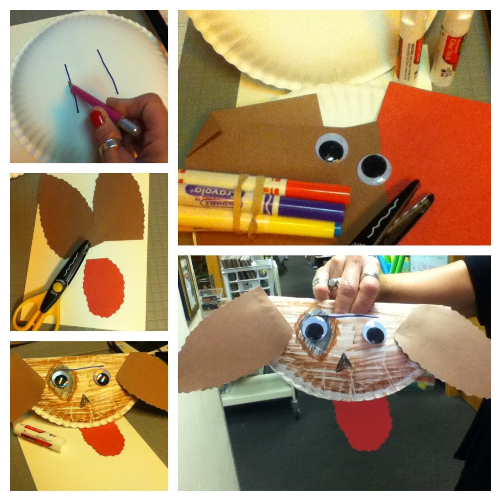 Paper Plate Puppet Tutorial