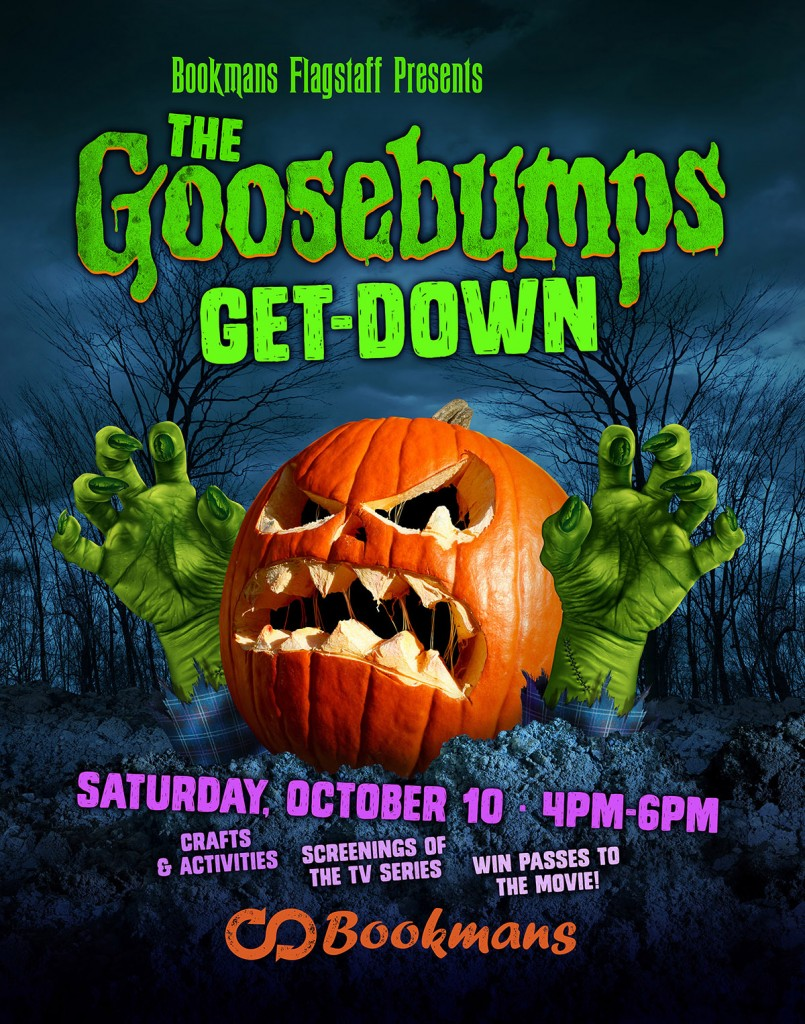 You're Invited to the Goosebumps Get Down at Bookmans Flagstaff