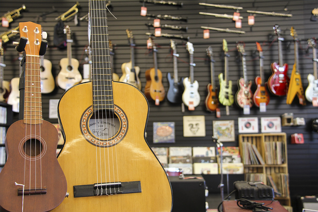Find the Right Instrument at Bookmans Grant