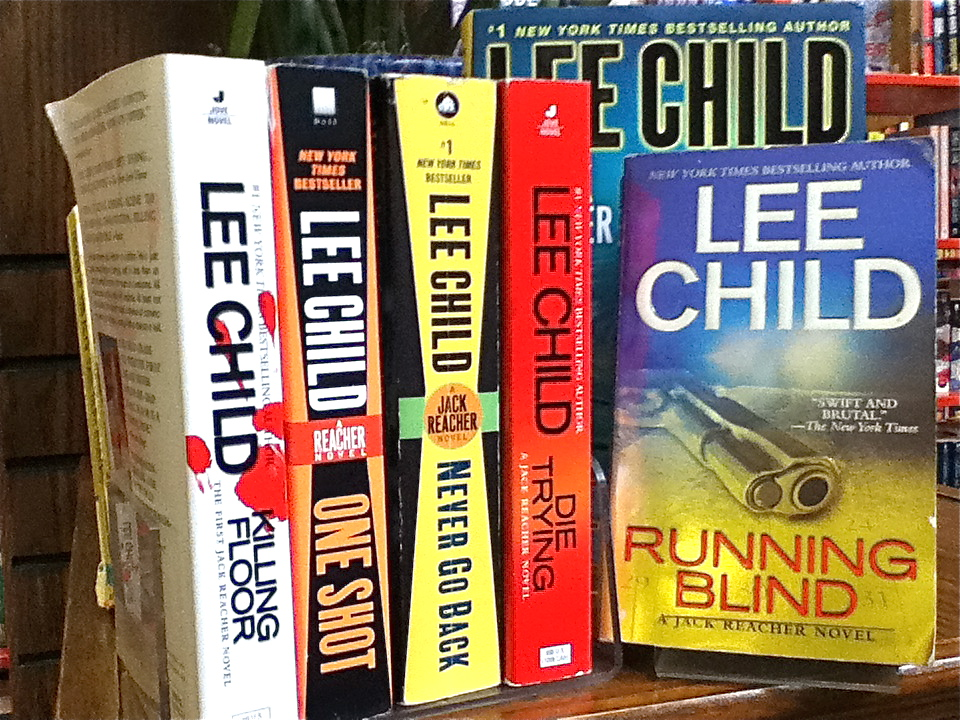 Bookmans Recommends: Mucho Macho Lee Child