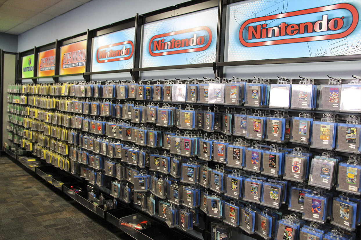 Geek Out Over Our Video Game Collections