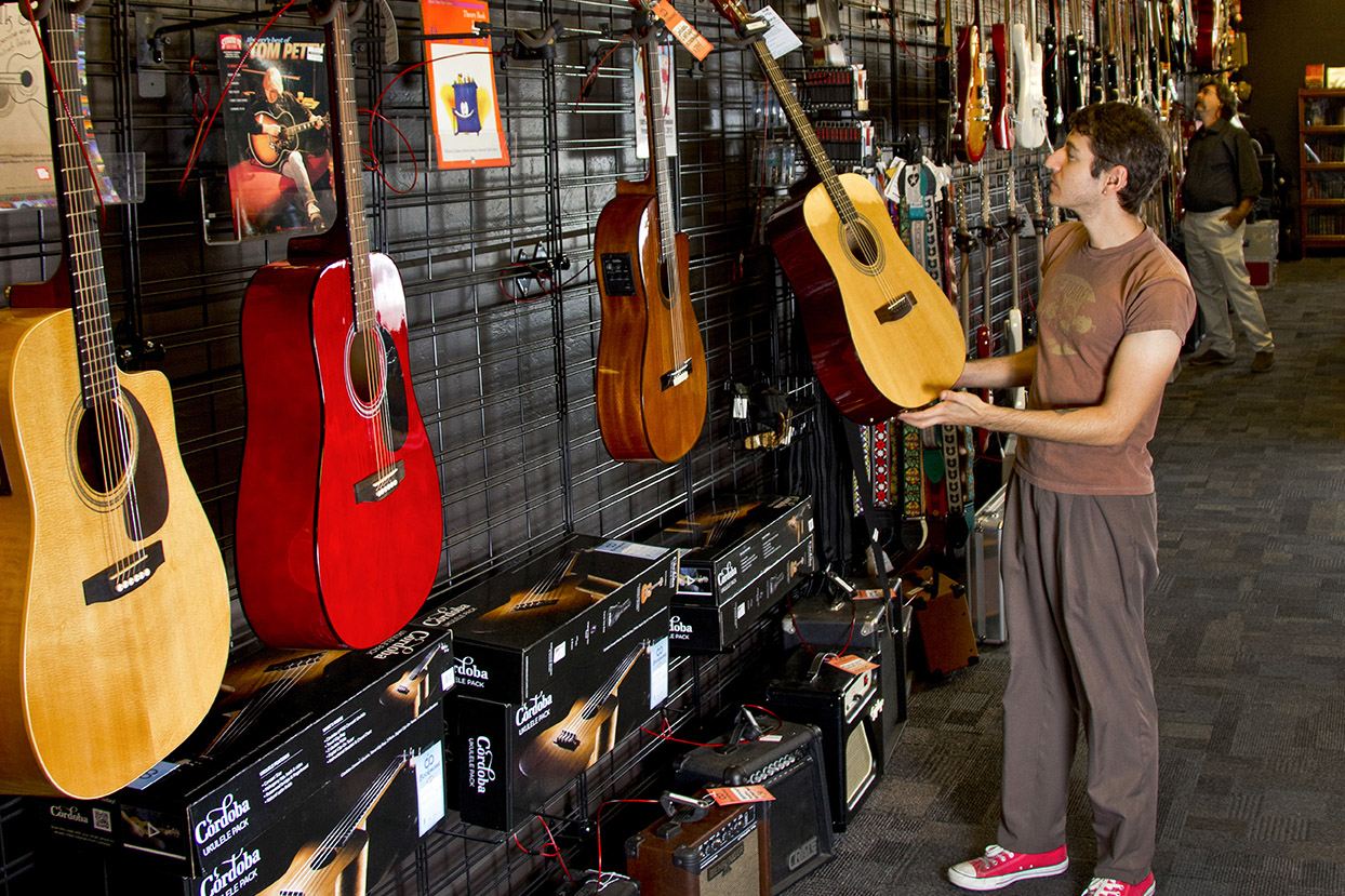 Find the Perfect Instrument at Bookmans Speedway