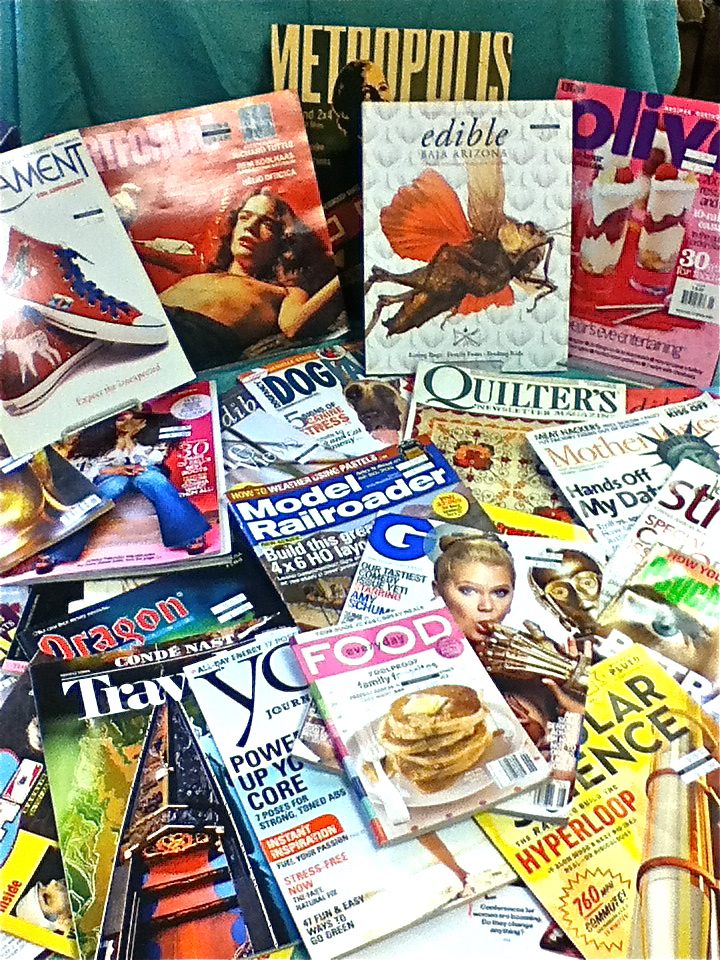 Used Magazines for All Reasons and Readers
