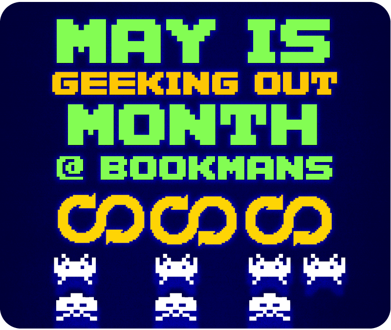 Geeking Out with Events at Bookmans