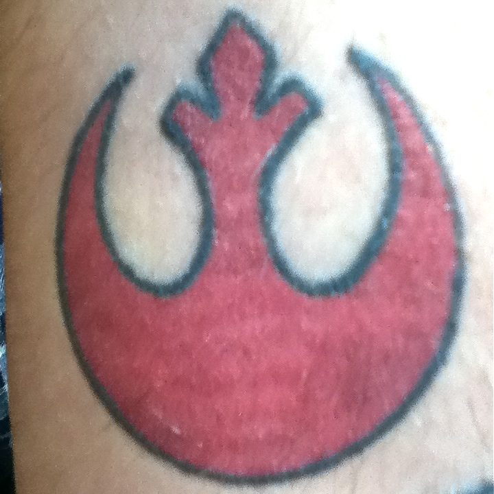 Geeking Out with Fandom Tattoos: Star Wars Crest of the House of Malik