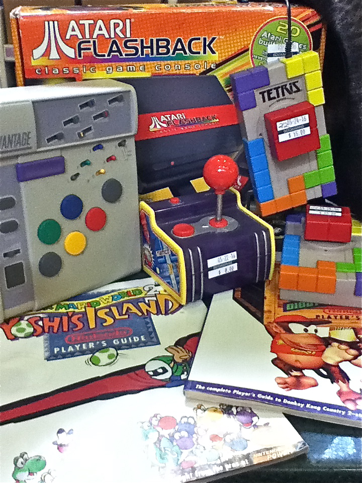 Retrogaming with Bookmans