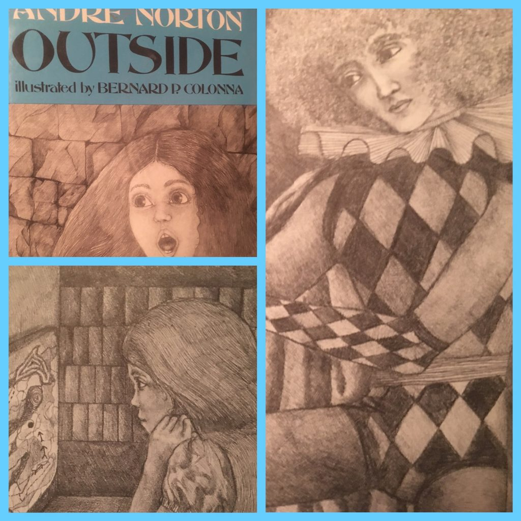Book cover of Andre Norton's Outside