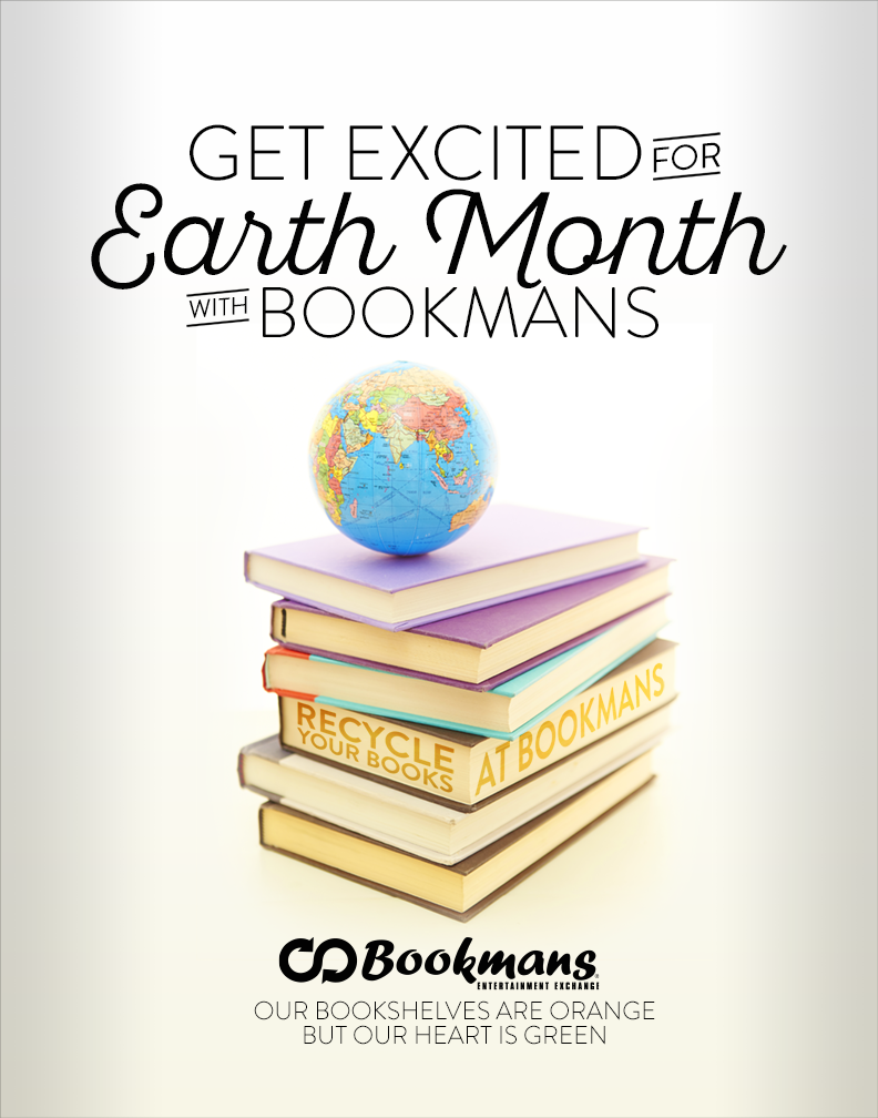 Get Excited for Earth Month with Bookmans Poster