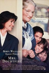 Movie cover of the film Mrs. Doubtfire father's day