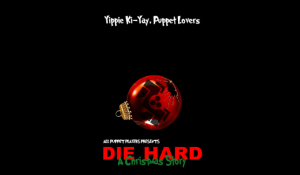 All Puppet Players Die Hard a Christmas Carol poster