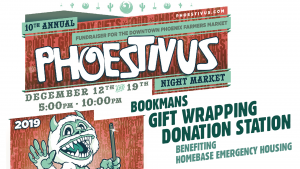 Phoestivus gift wrapping by Bookmans