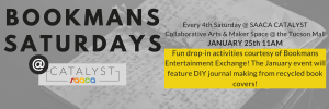 Bookmans Saturdays at CATALYST Art Space