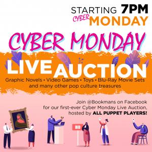 cyber monday live auction