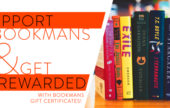 Buy Bookmans Gift Certificates Get Rewarded