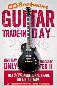 guitar trade-in day feb 11