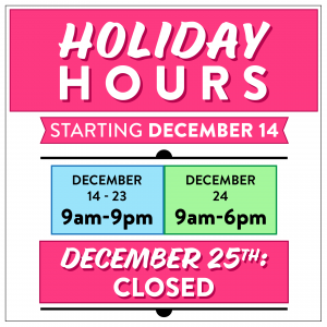 holiday hours tucson stores