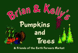 Brian & Kelly's Pumpkins and Trees