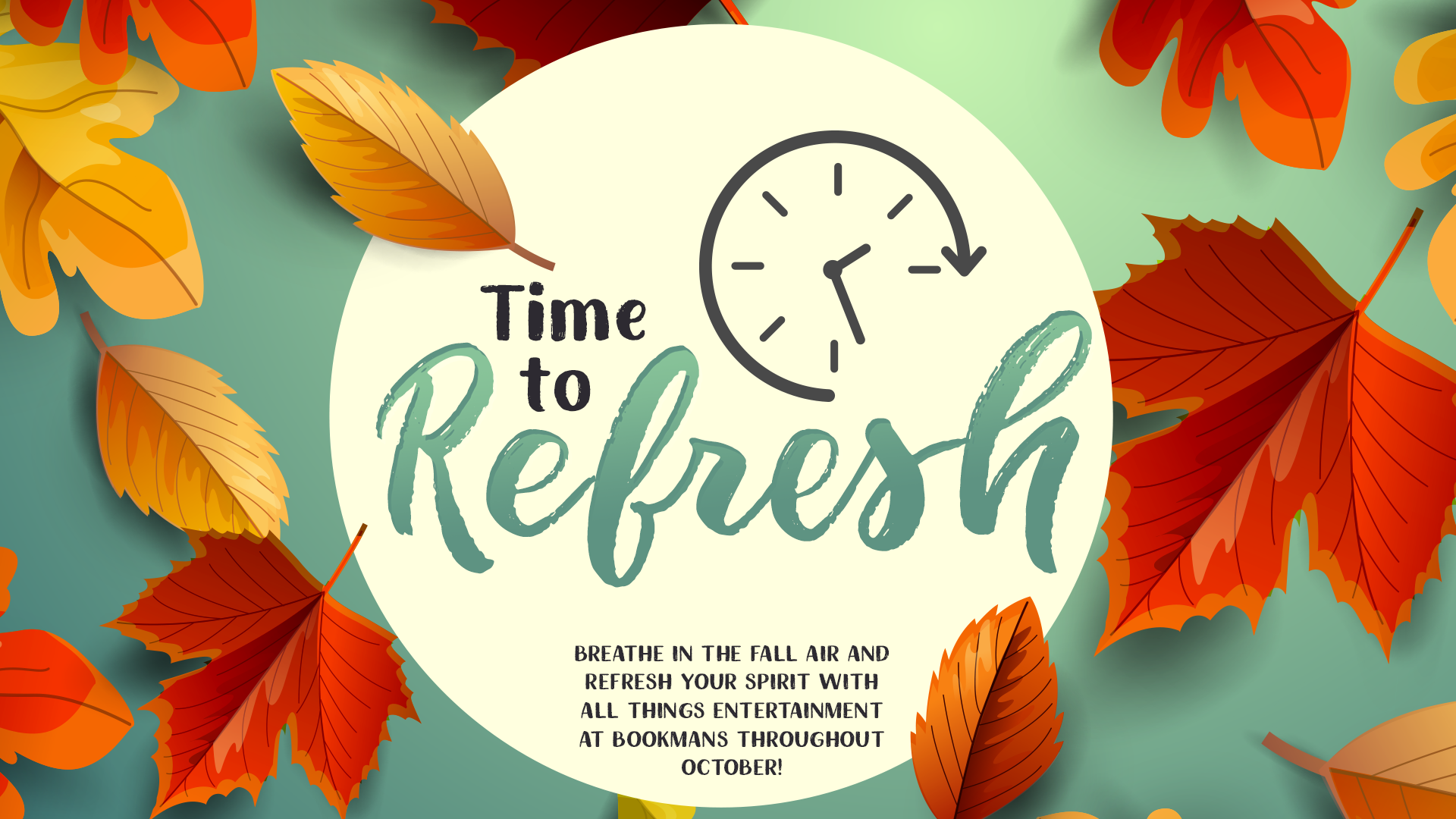 october refresh with bookmans