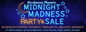 midnight madness bookmans phoenix
