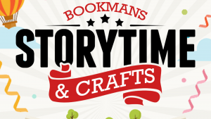Storytime and Crafts at Bookmans