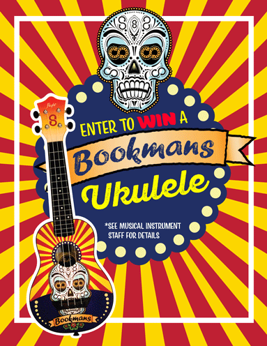 scary fun ukulele giveaway