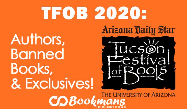 TFOB authors, banned books, and exclusives Tucson Festival of Books