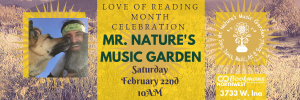 Mr. Nature event listing