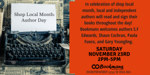 Shop Local Author Day