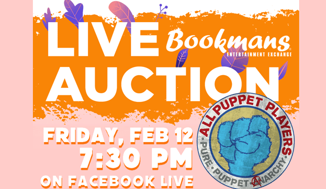 bookmans virtual auction feb 12