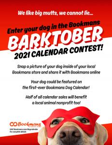 barktober bookmans dog calendar