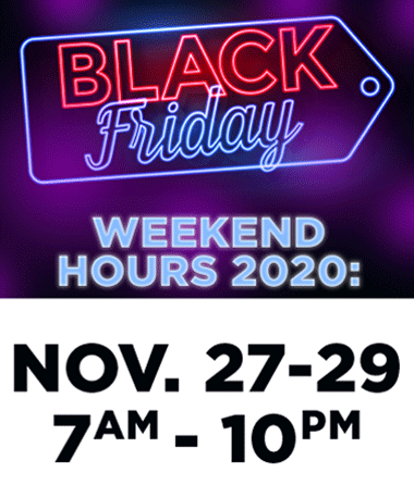 black friday hours at bookmans