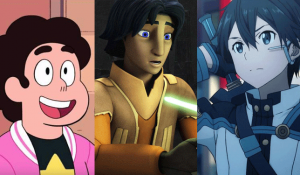 stephen universe, star wars rebels cartoon, anime tv show