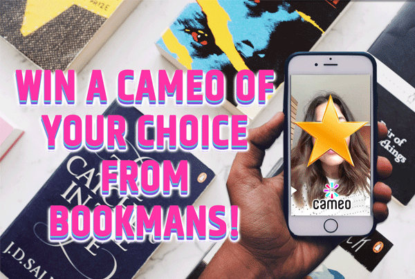 win a cameo of your choice from bookmans
