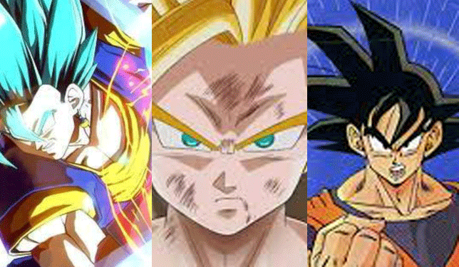 three dragon ball z characters