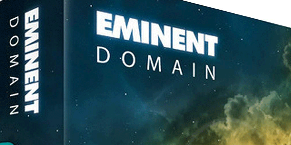 eminent domain board game box cover