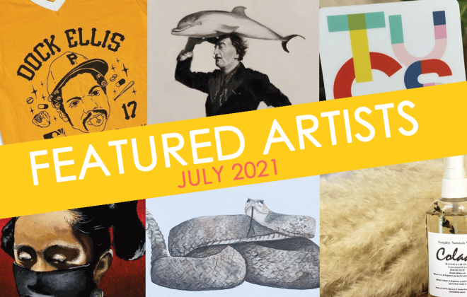 bookmans featured artists july 2021