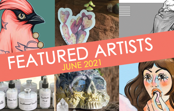 june featured artists at bookmans