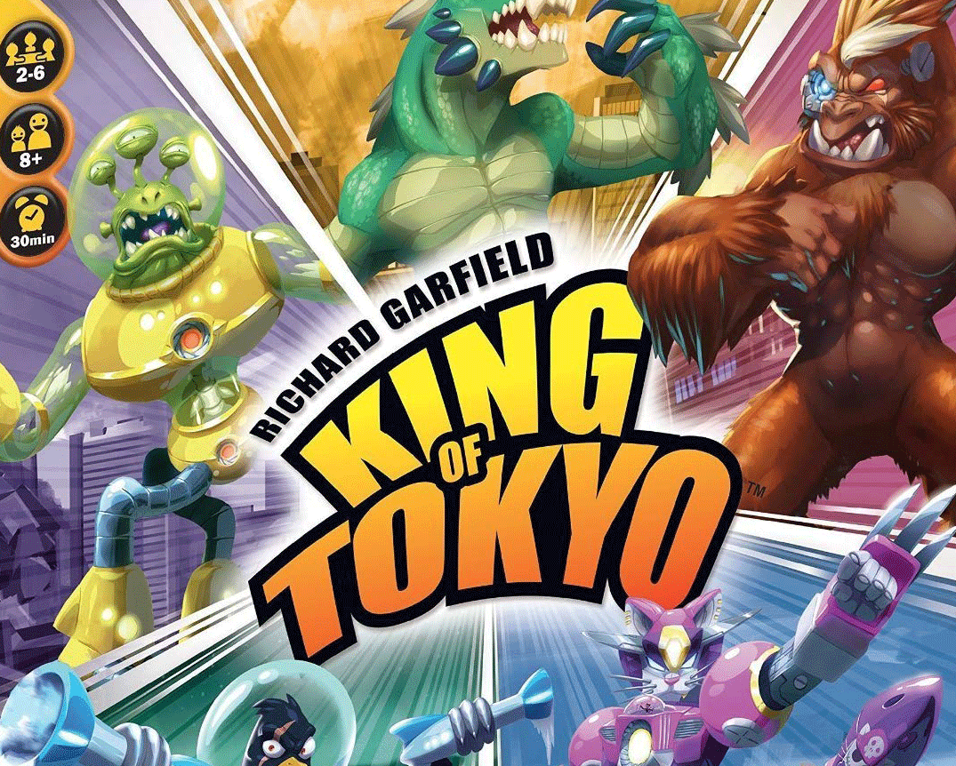King of Tokyo board game cover